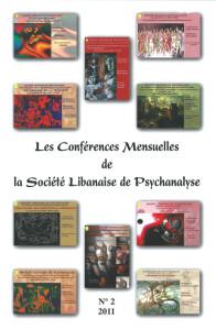 Les conférence mensuelles de la Société Libanaise de Psychanalyse - Couverture Revue N°2